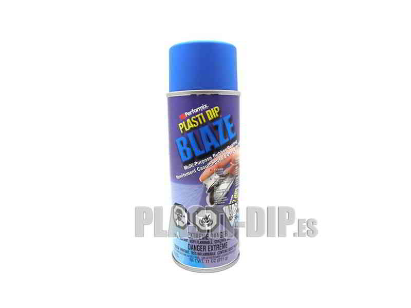 Plasti Dip Gomme de Protection en Spray Bleu Néon