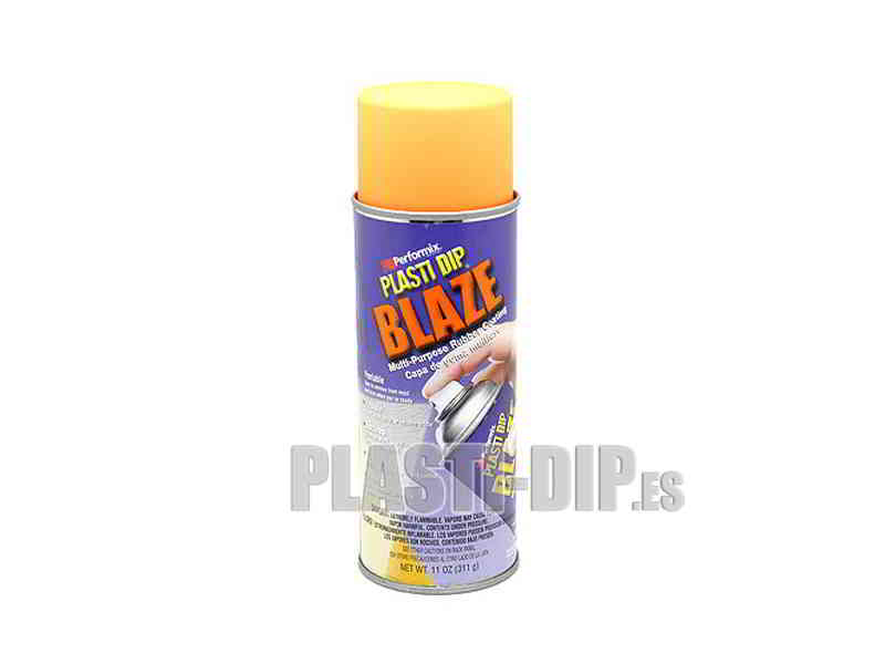 Plasti Dip Gomme de protection en Spray Orange Fluo