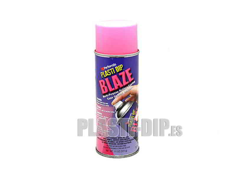 Plasti Dip Gomme protection en Spray Rose Fluo