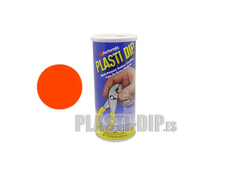 Plastidip Liquid Caoutchouc Orange Fluorescent (429ml)